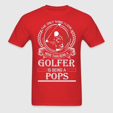 Golfer Pops - Men's T-Shirt