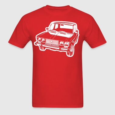 Lada 2106 illustration - Men's T-Shirt