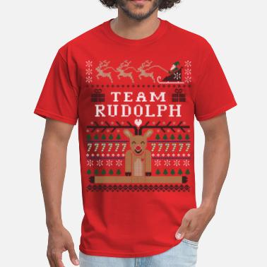 Rudolph Christmas Rudolph Ugly Christmas - Men's T-Shirt