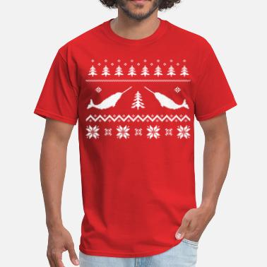 Narwhal Ugly Narwhal Christmas Sweater - Men's T-Shirt