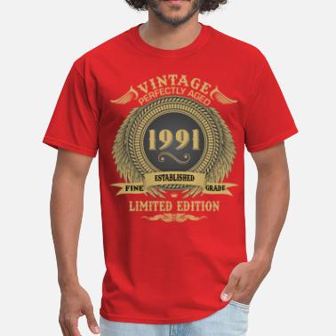 1991 Limited Edition Vintage Perfectly Aged 1991 Limited Edition - Men's T-Shirt