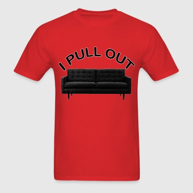 pull out.png - Men's T-Shirt