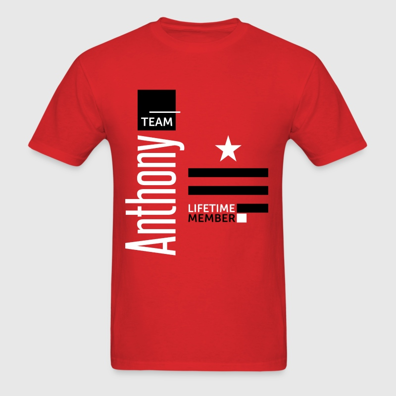 Team Anthony - Men's T-Shirt