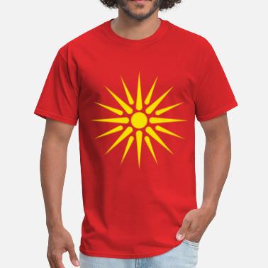 Macedonian macedonian_flag - Men's T-Shirt