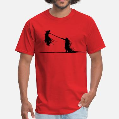 Fantasy Cloud Vs. Sephiroth - Men's T-Shirt