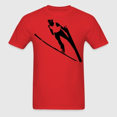 Ski Jumper - Men's T-Shirt