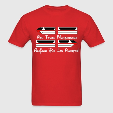 Monorail Por Favor - Men's T-Shirt