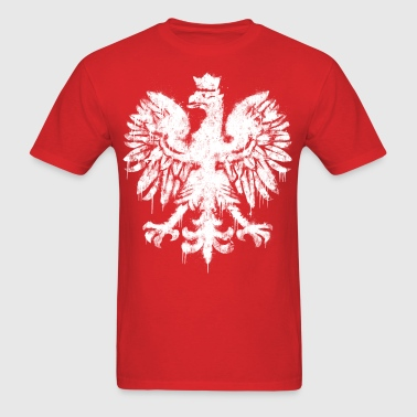 Polish Eagle Graffiti - Men's T-Shirt