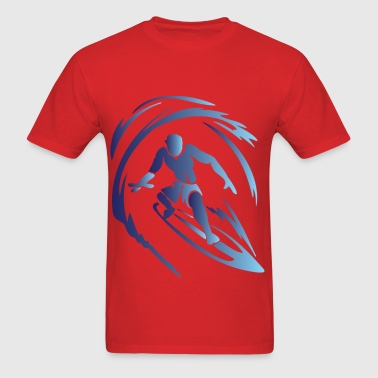 Surfing 1 Blue - Men's T-Shirt