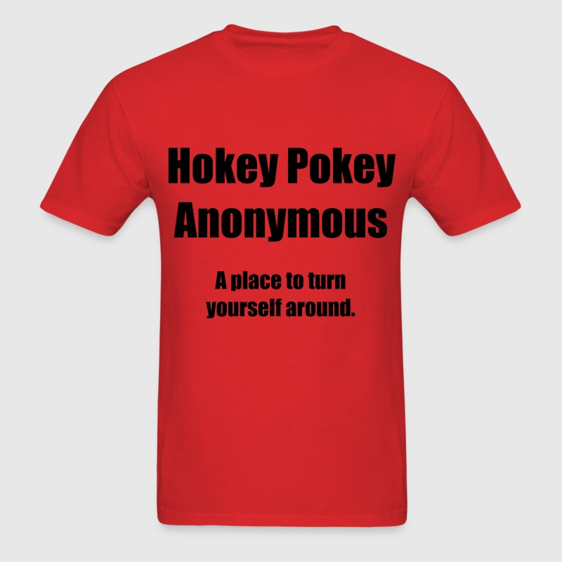 Hokey Pokey Anonymous - Men's T-Shirt