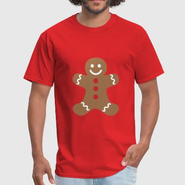 Gingerbread gingerbread man - Men's T-Shirt