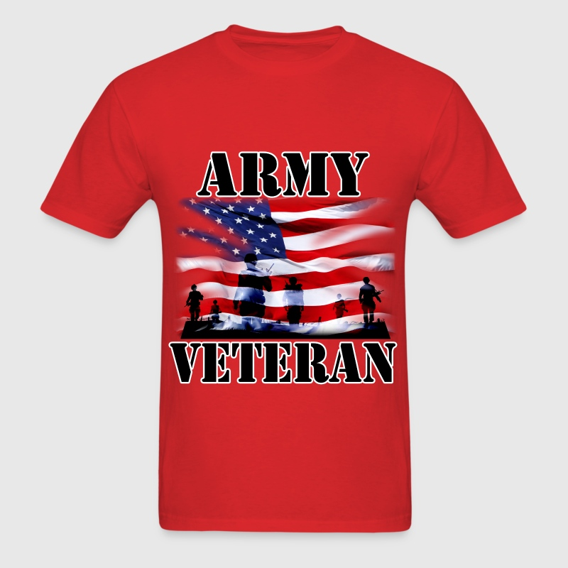 USA Military Army Veteran - Men's T-Shirt