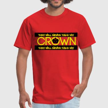 CROWN BLACK - Men's T-Shirt