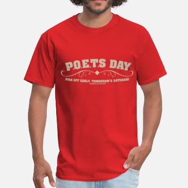 Poets Day Poets Day - Men's T-Shirt