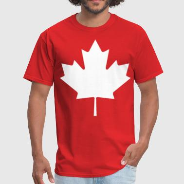 Canada Maple leaf white - Men's T-Shirt