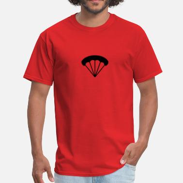 Parachuting Parachute - Men's T-Shirt