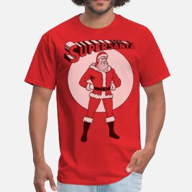 Superhero Supersanta - Men's T-Shirt