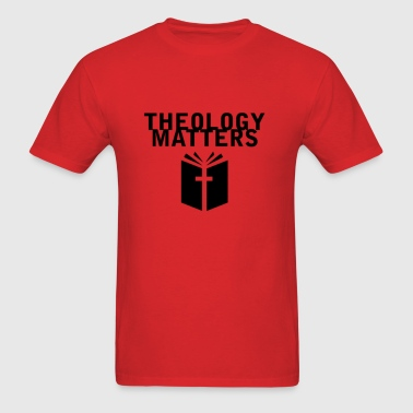Theology Matters RED - Men's T-Shirt