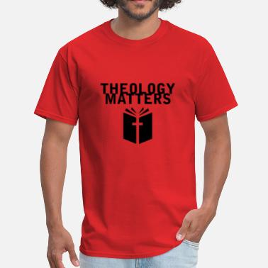 Theology Theology Matters RED - Men's T-Shirt