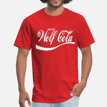 Cola Enjoy Wolf Cola - Men's T-Shirt