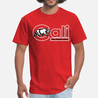 The Golden State Cali The Golden State - Men's T-Shirt
