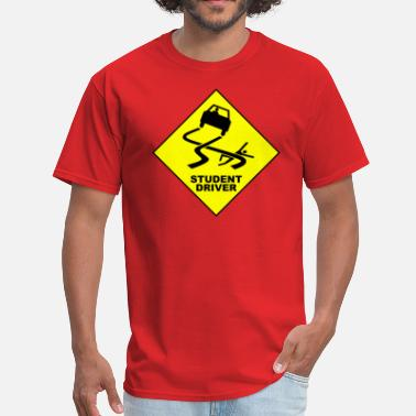 Drivers License Warning student driver - Men's T-Shirt
