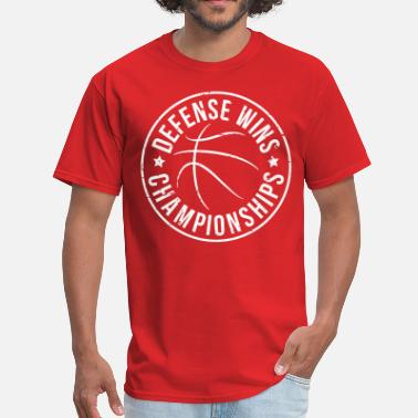 Basketball Defense Defense Wins Basketball - Men's T-Shirt