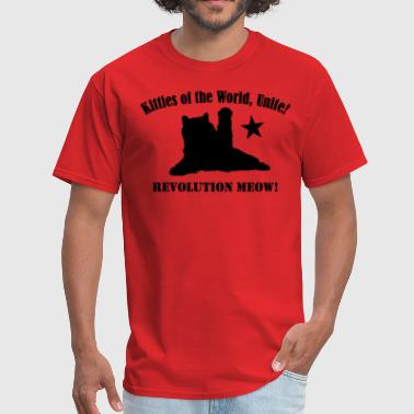 Socialism Cats Kitties of the World, Unite! - Men's T-Shirt