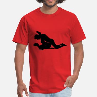 Stencil Kama Sutra sex - Men's T-Shirt