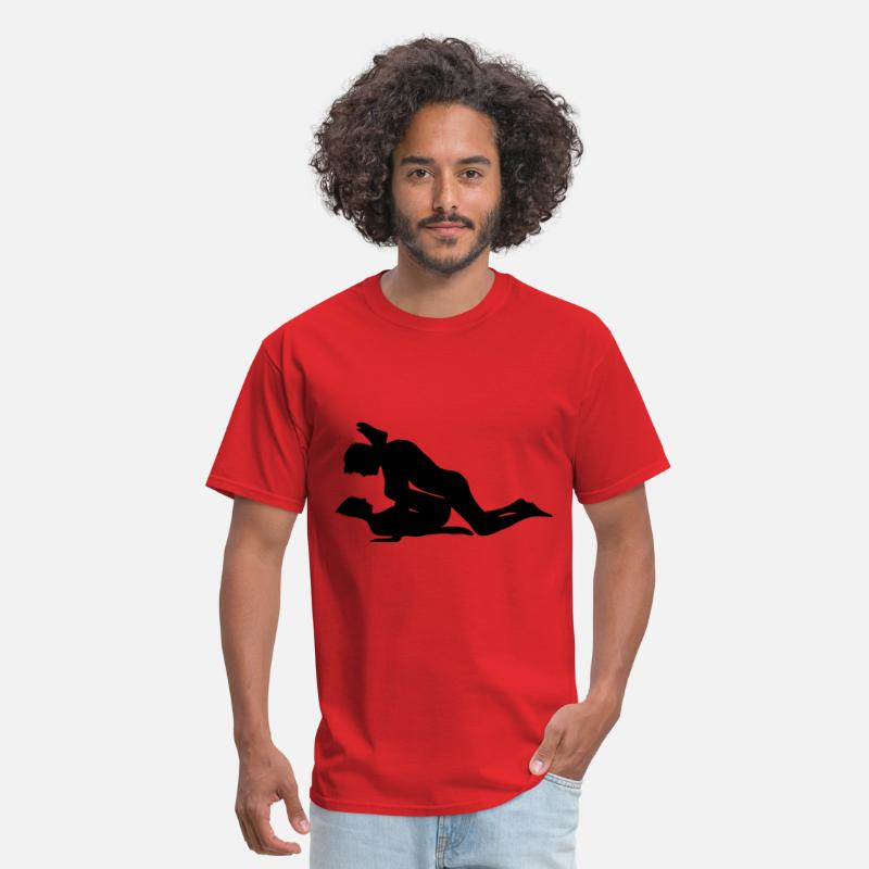 Kama Sutra T-Shirts - sex - Men's T-Shirt red