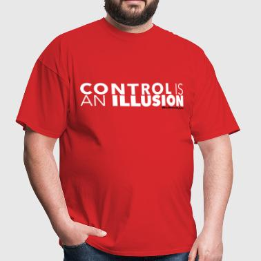 mr robot quotes control illusion - Men's T-Shirt