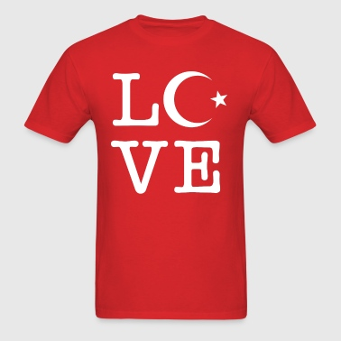 Türkei Love - Men's T-Shirt