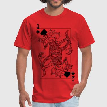 Alien Queen Of Spades - Men's T-Shirt