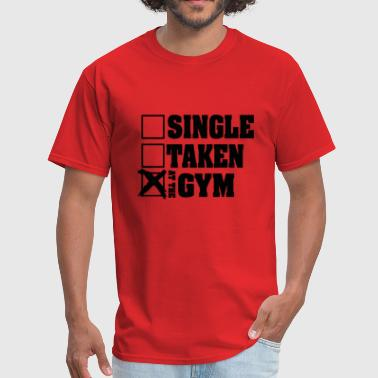 Single Taken At the Gym - Men's T-Shirt