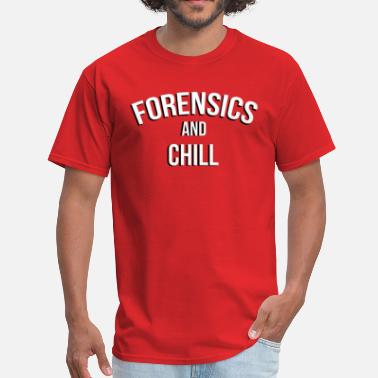 Crime Scene forensicsAC - Men's T-Shirt