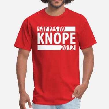 Parks And Recreation Say Yes To Knope 2012 - Men's T-Shirt