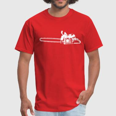 Chain Saw - Men's T-Shirt
