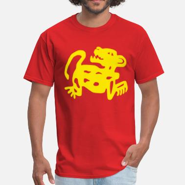 Hidden Red Jaguars - Men's T-Shirt