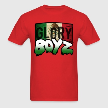 Glory Boyz Mexico logo by Delao® - Men's T-Shirt