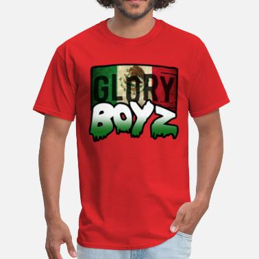 Glo Gang Glory Boyz Mexico logo by Delao® - Men's T-Shirt