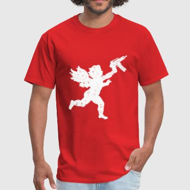 Automatic Cupid With Automatic - Men's T-Shirt