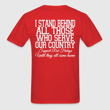 Red Fridays - Men's T-Shirt