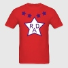 Cru Jones' BMX Rad Racing Uniform Design - Men's T-Shirt