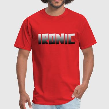 Iron Fit Ironic Slim Fit - Men's T-Shirt