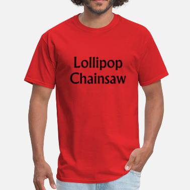 Lollipop Jokes Lollipop Chainsaw t shirt - Men's T-Shirt