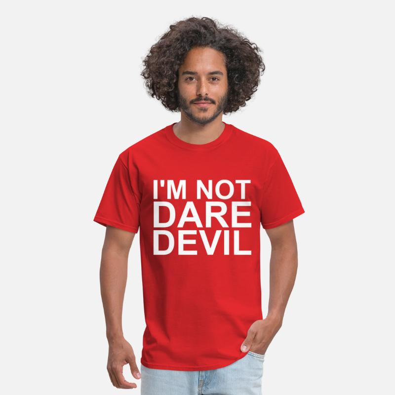 Comic Book T-Shirts - I'm not Daredevil - Men's T-Shirt red