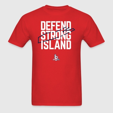 Defend Strong Island - Men's T-Shirt