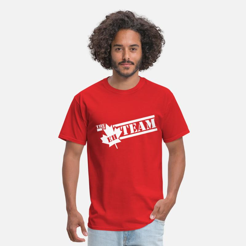 Canada T-Shirts - The Eh Team - Men's T-Shirt red