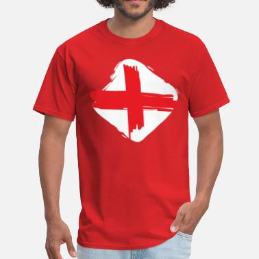 England Flag English Flag Flag of England - Men's T-Shirt