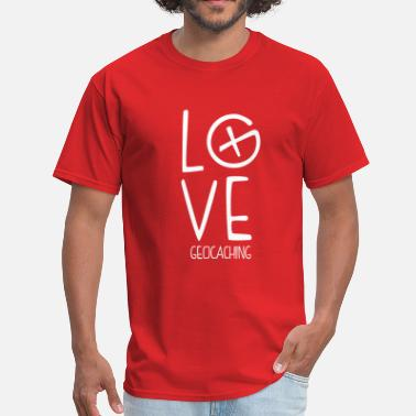 Love Geocaching Geocaching Love - Men's T-Shirt